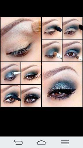 Eyes make up 2017 Screenshot