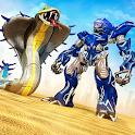 Snake Transform Robot War Game icon