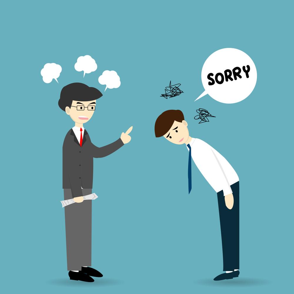 Langmaster - Những câu xin lỗi bằng tiếng Anh hay nhất