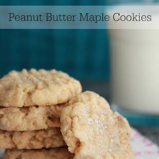 Peanut Butter Maple Cookies.