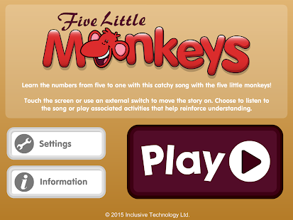 Five Little Monkeys- screenshot thumbnail