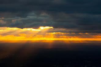 Photo: 118/366 - sunset over Melbourne