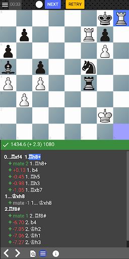 Chess tempo - Train chess tactics, Play online 3.1 screenshots 1