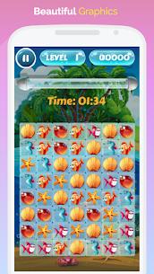 Fish World Saga – Pop, Match and Crush! 3