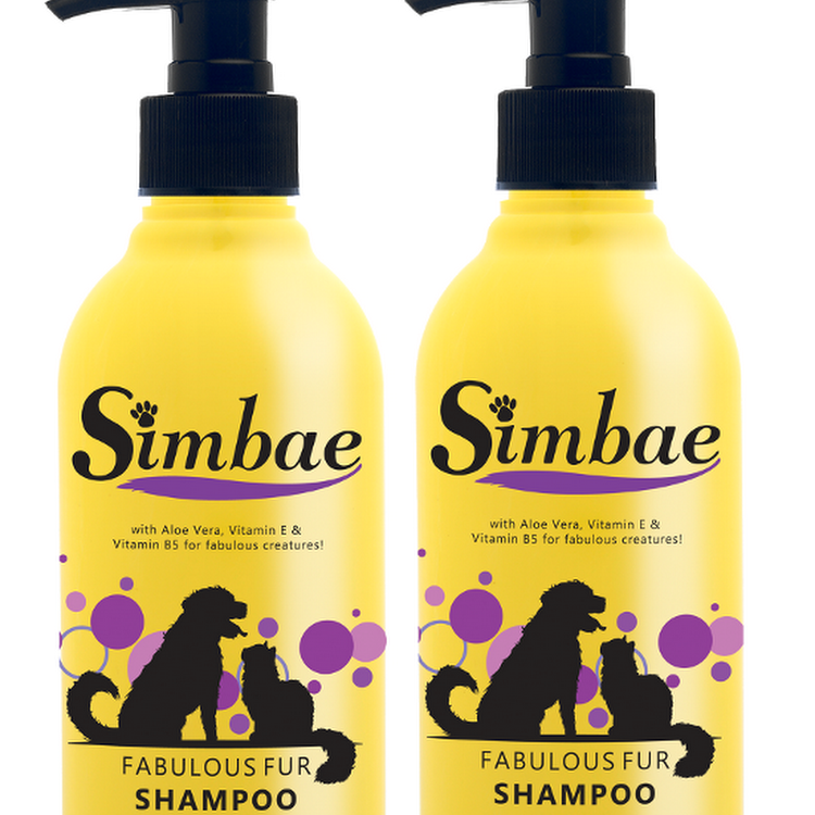 SIMBAE Fabulous Fur Pet Shampoo (300ml) by Pets Manic