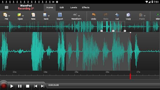 WavePad Audio Editor Free 11.14