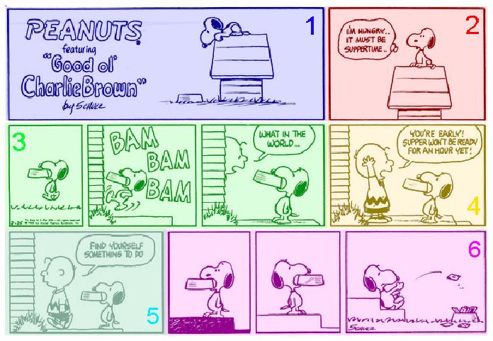 peanuts strisce fumetti