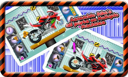 Sports Bike Factory Mechanic