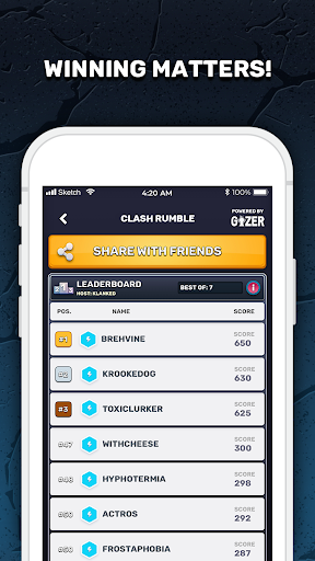 GIZER   The Global Gaming Network screenshot 4