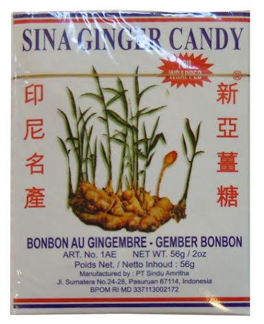 Ginger Candy 56g Jin Jin