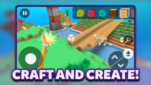 Crafty Lands - Craft, Build and Explore Worlds 1.2.7 screenshots 1