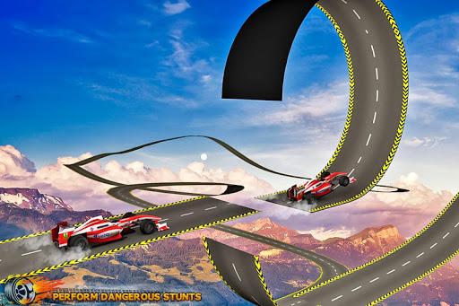Formula Car Stunt  Race apkmr screenshots 4
