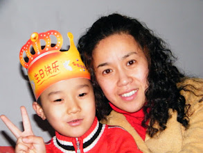 Photo: baby son, warrenzh, 朱楚甲 with his proud mom, emakingir.