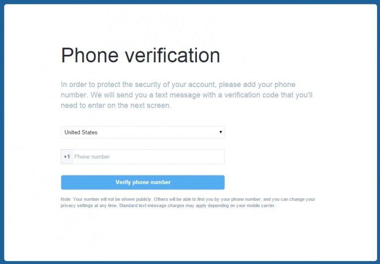 unlock Twitter account without email