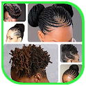Hairstyle donne africane icon