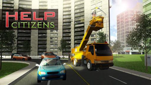 城市服务起重机操作员|玩模擬App免費|玩APPs