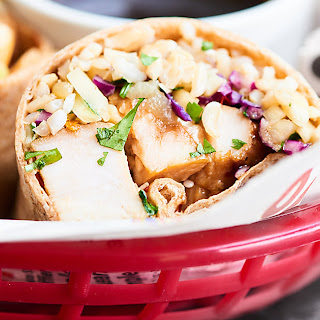 Teriyaki Turkey Wrap