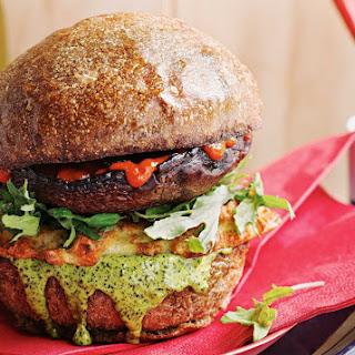 The Vegetarian Haloumi Hash Burger You Want Tonight