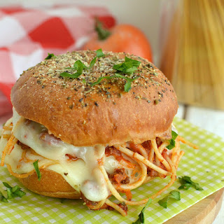 Easy Spaghetti Sliders
