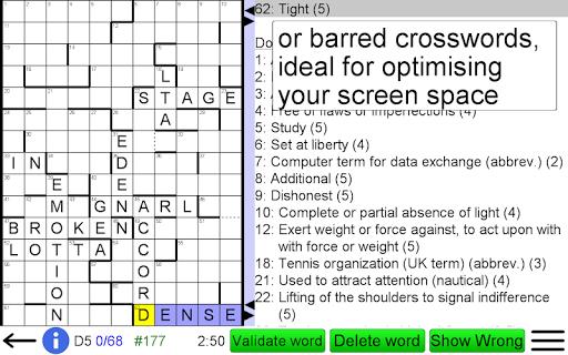 Arrow Crossword screenshots 19