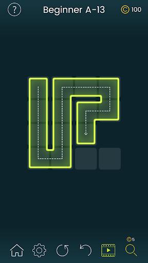 Puzzle Glow : Brain Puzzle Game Collection  captures d'écran 3