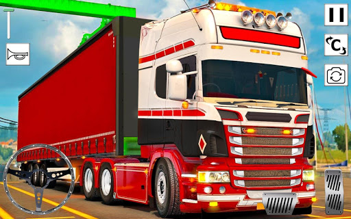 Euro Truck Simulator 3D: Top Truck Game 2020 APK MOD (Astuce) screenshots 1