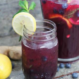 Blueberry Ginger Lemonade