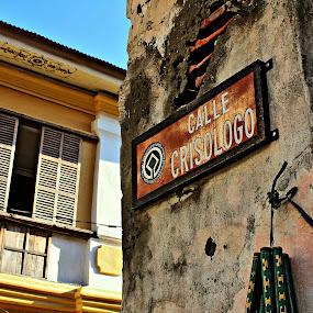The Famous Calle by Joseph Molde - City,  Street & Park  Street Scenes
