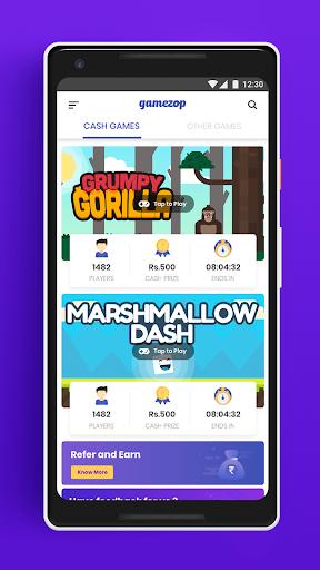 Gamezop: Play and win cash! 3.4.2 screenshots 1