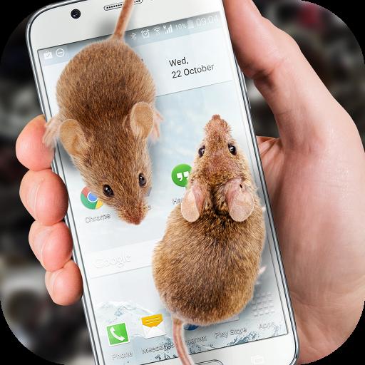 老鼠在屏幕上嚇人的笑話 娛樂 App LOGO-APP試玩
