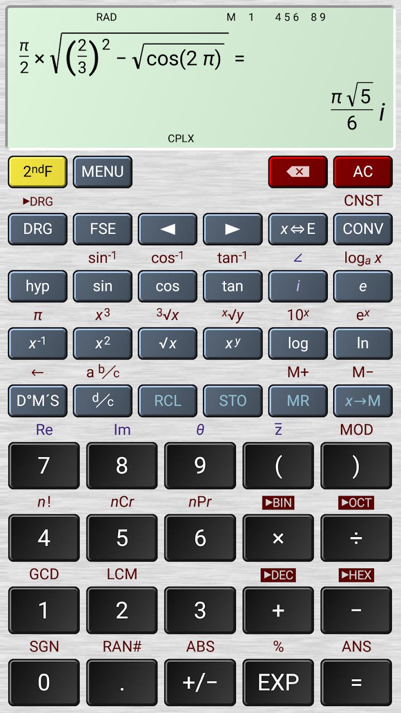 HiPER Calc Pro Screenshot 2