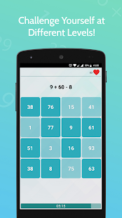 Number Games - Fast Calculations for PC-Windows 7,8,10 and Mac apk screenshot 5