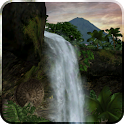 Jungle Waterfall LiveWallpaper icon