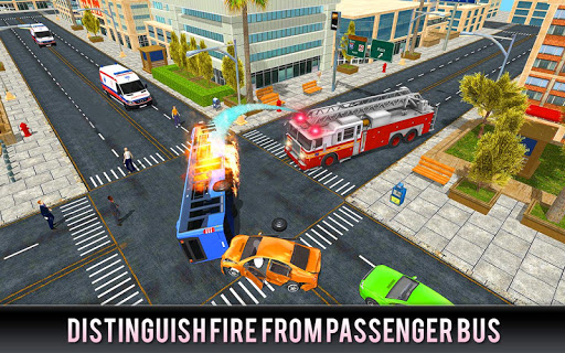 Firefighter Truck 911 Rescue: Emergency Driving 1.0.3 de.gamequotes.net 5