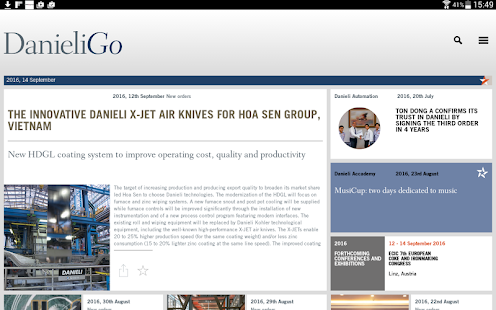 Danieli Go- screenshot thumbnail