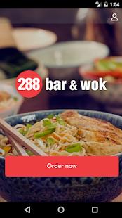 288 Bar & Wok Ordering App - náhled