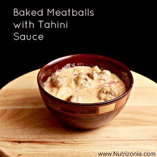 Meatballs with Tahini sauce