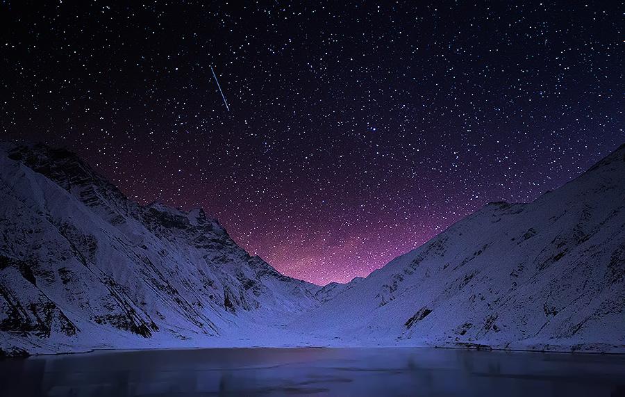 Fairy Land by XeeShan Ch - Landscapes Starscapes ( naran, pakistan, lake saiful malook, stars, xeeshan, saif ul malook, lake saif ul malook )