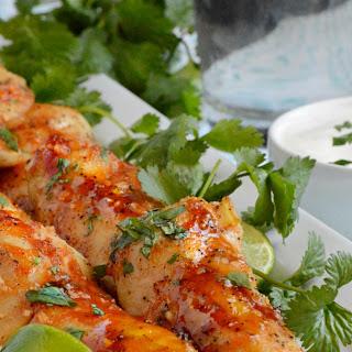 Honey Sriracha Chicken Tenders.