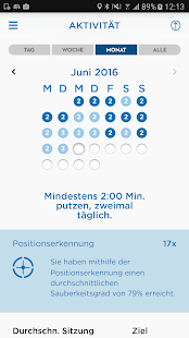 Oral-B App – Miniaturansicht des Screenshots