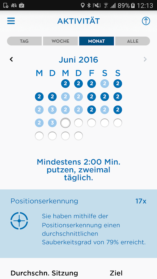 Oral-B App – Screenshot