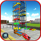 Multi Level Car Transport : Parking Master