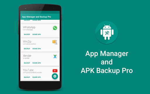 App Manager and APK Backup Pro