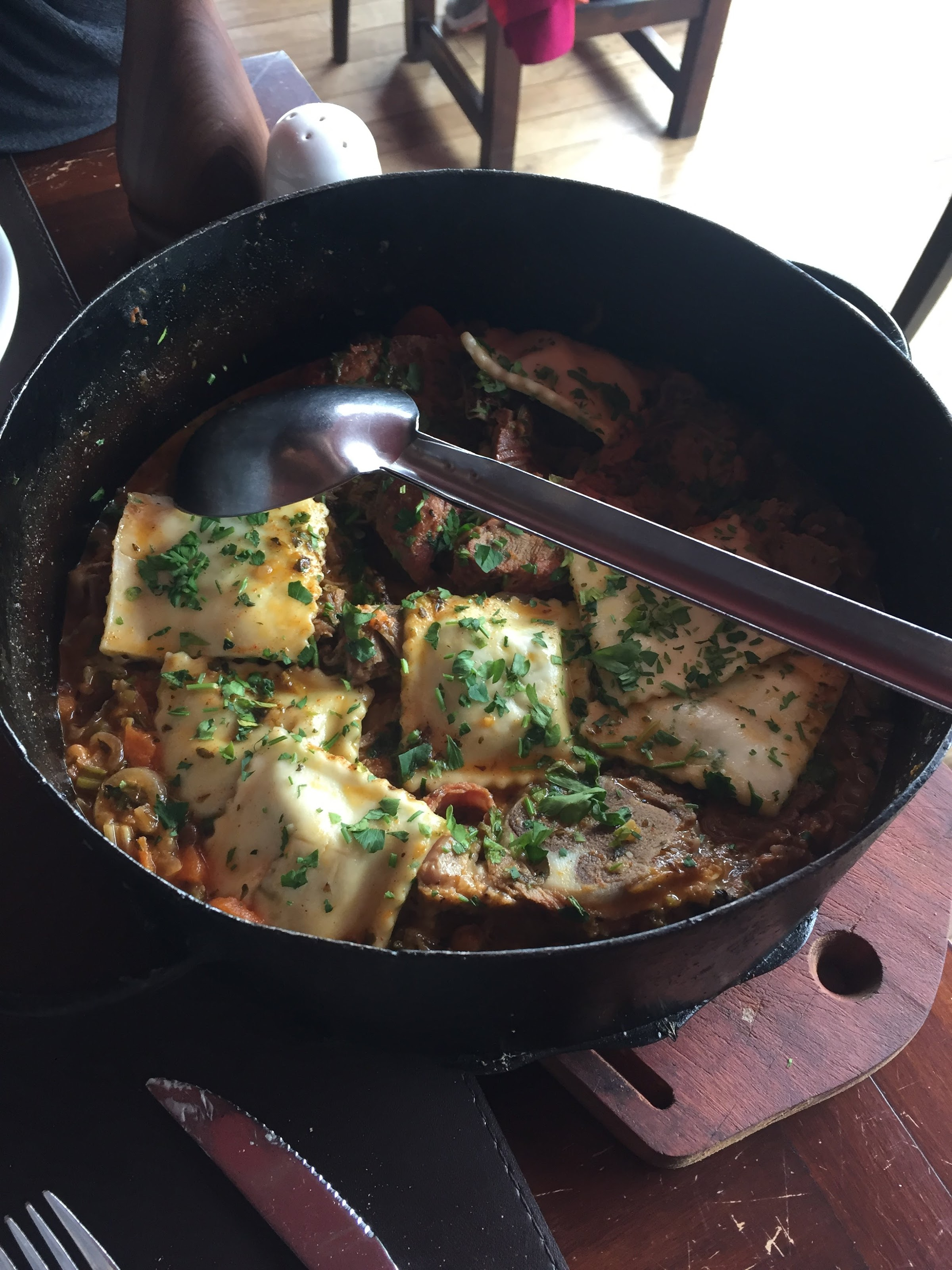 Isabel - Cocina al Disco el calafate restaurant