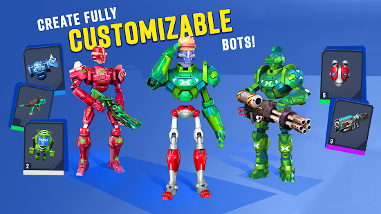 Blast Bots - Blast your enemies in PvP shooter! Screenshot