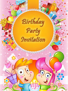 Birthday invitation card frame apps on google play screenshot image stopboris Gallery