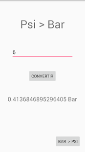 Converter: Bar - Psi- screenshot thumbnail
