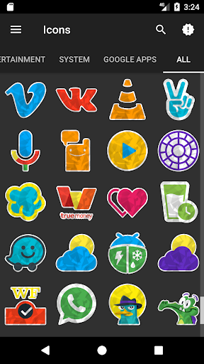 Gono - Icon Pack Appar för Android screenshot