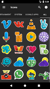Gono - Icon Pack Aplicaciones para Android screenshot