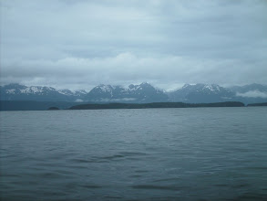 Photo: Kataguni Island with the Chilkat Mountains in the distance.